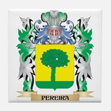 Pereira Coat of Arms - Family Crest Tile Coaster