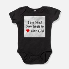 Cute I love gigi Baby Bodysuit