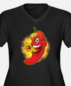 Red Hot Chili Pepper Plus Size T-Shirt