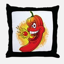 Red Hot Chili Pepper Throw Pillow