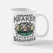 Drunken Kraken Bar and Grill Mugs