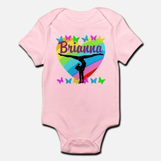 PERSONALIZE GYMNAST Infant Bodysuit