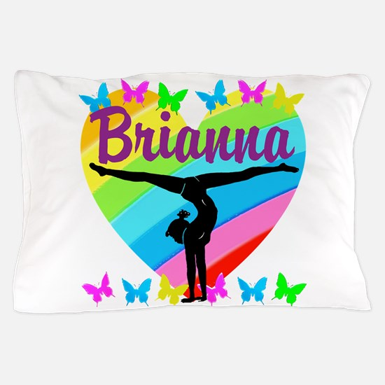 PERSONALIZE GYMNAST Pillow Case
