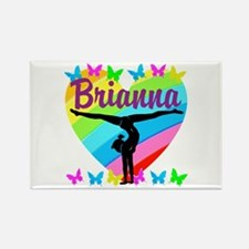 PERSONALIZE GYMNAST Rectangle Magnet (10 pack)