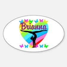 PERSONALIZE GYMNAST Decal