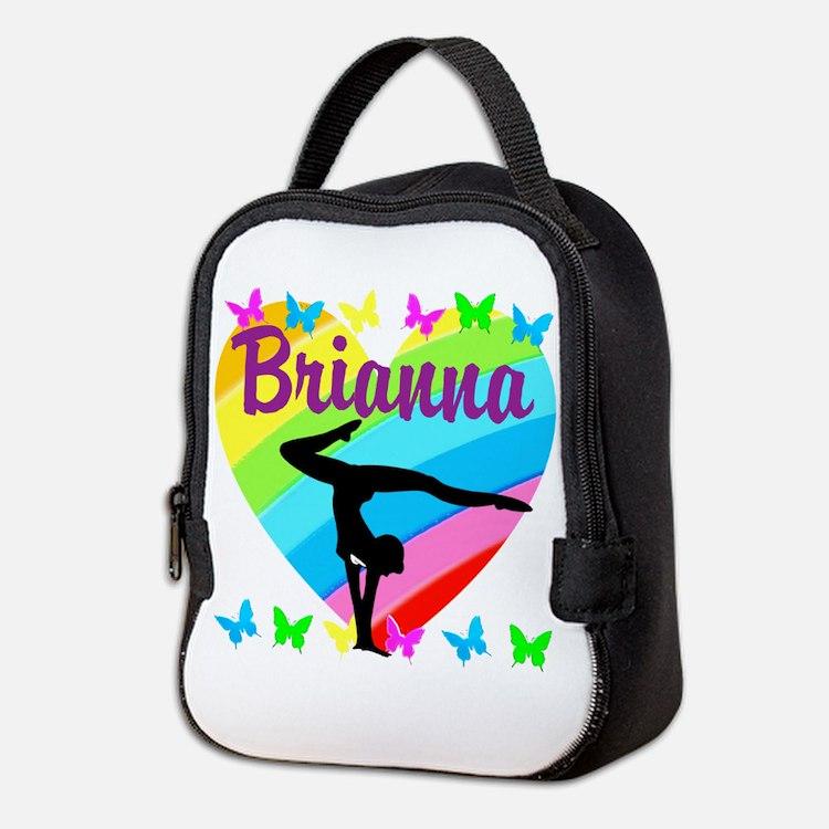 PERSONALIZE GYMNAST Neoprene Lunch Bag