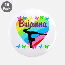 "PERSONALIZE GYMNAST 3.5"" Button (10 pack)"