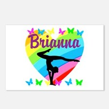 PERSONALIZE GYMNAST Postcards (Package of 8)