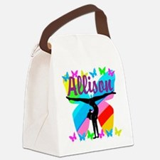PERSONALIZE GYMNAST Canvas Lunch Bag