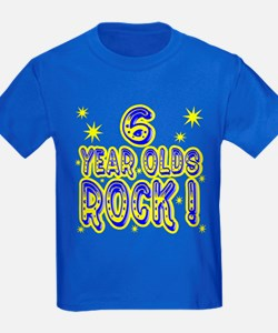 6 Year Olds Rock ! T