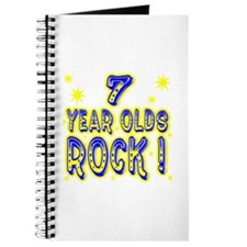 7 Year Olds Rock ! Journal
