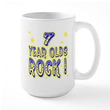 7 Year Olds Rock ! Mug