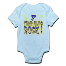 7 Year Olds Rock ! Infant Bodysuit