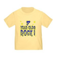 7 Year Olds Rock ! T