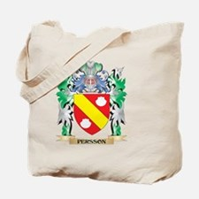 Persson Coat of Arms - Family Crest Tote Bag