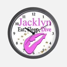 PERSONALIZE DIVER Wall Clock