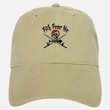 Fish Fear Me Baseball Baseball Cap