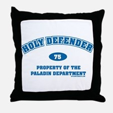 Holy Defender Throw Pillow