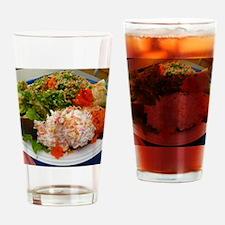 Hawaiian poki bowl Drinking Glass