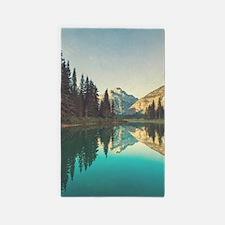 Glacier National Park Area Rug