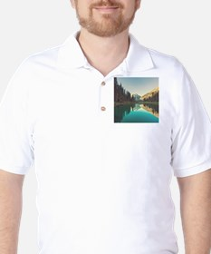 Glacier National Park Golf Shirt