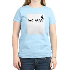 Get High Snowboarding T-Shirt