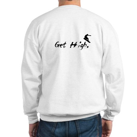 Get High Snowboarding Sweatshirt
