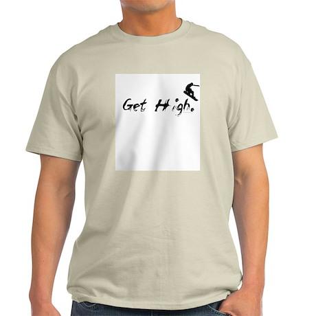 Get High Snowboarding Light T-Shirt