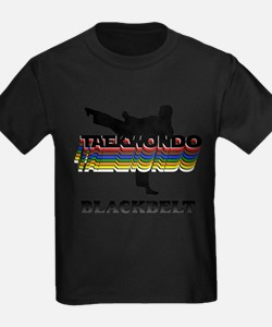 Taekwondo Black Belt Colors T-Shirt