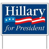 Hillary clinton Yard Signs