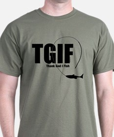 Tgif Fishing T-Shirt