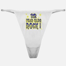12 Year Olds Rock ! Classic Thong