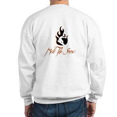 Melt The Snow Snowboarding Sweatshirt