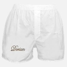 Gold Dorian Boxer Shorts