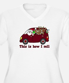 This is How I Roll Santa T-Shirt