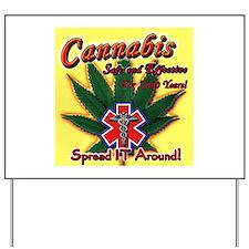 Unique Cannabis Yard Sign