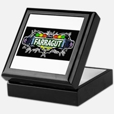 Farragut (Black) Keepsake Box