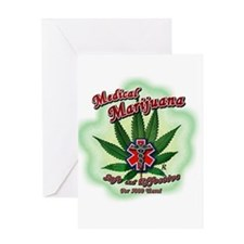 Funny Medical marijuana Greeting Card