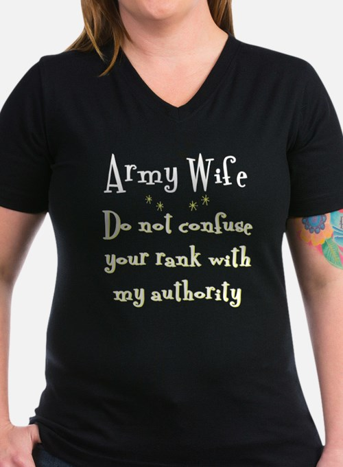 Do not confuse your rank Army T-Shirt