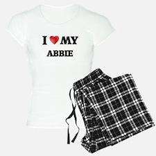 I love my Abbie pajamas