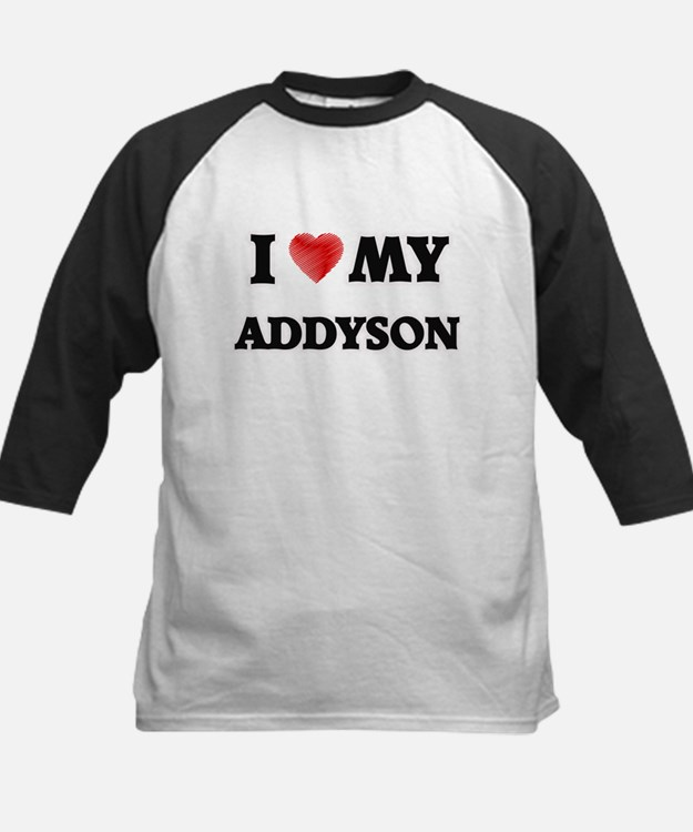 I love my Addyson Baseball Jersey