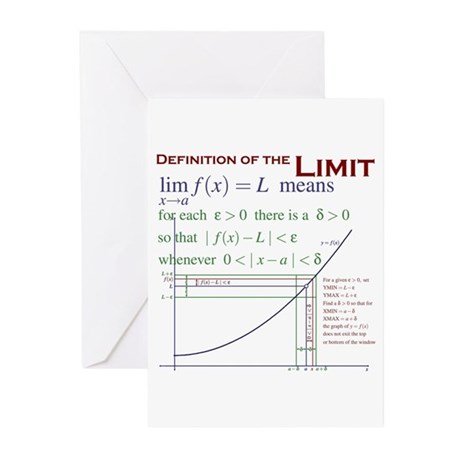 Definition of the Limit Greeting Cards (Pk of 20)