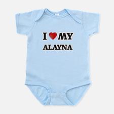 I love my Alayna Body Suit