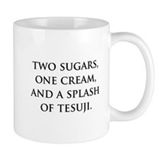 Splash of Tesuji Small Mugs