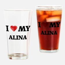 I love my Alina Drinking Glass