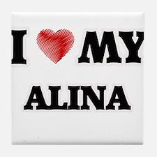 I love my Alina Tile Coaster