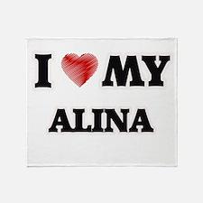 I love my Alina Throw Blanket