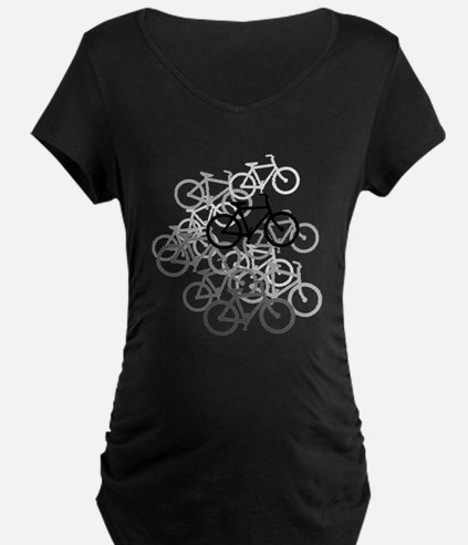 Bicycles Maternity T-Shirt