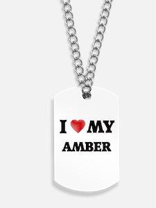 I love my Amber Dog Tags