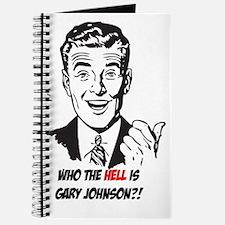 Cute Gary johnson Journal